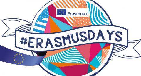 """Giornate ErasmusDays 2021:""""Il mondo celebra il successo del programma Erasmus+""""."""