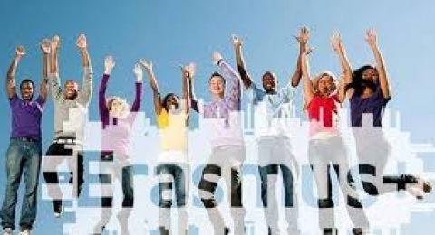"""Bando comunitario:""""Invito a presentare proposte 'Giovani europei uniti' - Erasmus+""""."""