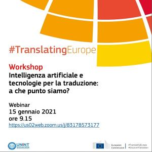 translating europe 15 gennaio 1